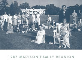 1987 Madison Family Reunion